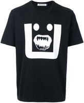 Undercover printed face T-shirt