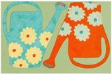 Liora Manné Trans Ocean Imports Visions III Watering Cans Doormat - 20'' x 29 1/2''