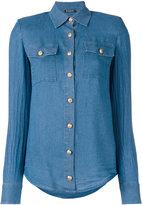 Balmain classic denim shirt - women - Lyocell - 40