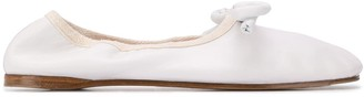 Lanvin bow ballerina shoes