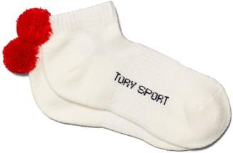Tory Burch Performance Compression Pom-Pom Socks