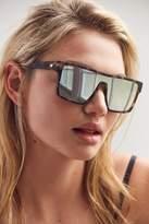 Le Specs Minimal Magic Shield Sunglasses