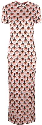 Paco Rabanne fitted T-shirt dress
