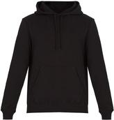 Calvin Klein Badge-appliqué hooded jersey sweatshirt