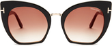 Tom Ford Samantha cat-eye sunglasses