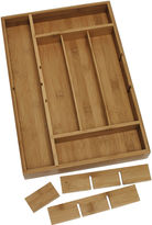Lipper Bamboo Organizer with Removable Dividers