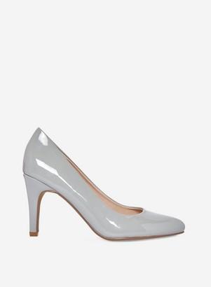 Dorothy Perkins Womens Wide Fit Grey Comfort 'Deedee' Court Shoes, Grey