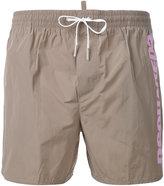 DSQUARED2 side logo swim shorts - men - Polyester - 48