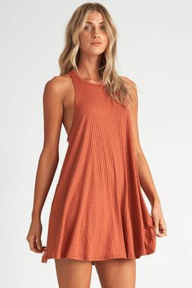 Billabong Sandy Sea Cover Up Dress Rust S