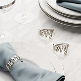 Crate & Barrel Merry Napkin Ring