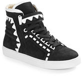 Webster Sophia Riko Suede High-Top Sneakers