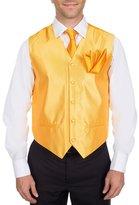 Buy Your Ties Men's Solid Formal Vest Necktie and Hanky Set