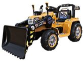 Tractor Ride-On in Yellow