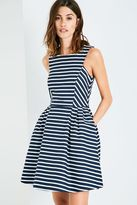 Jack Wills Jasmin Striped Fit & Flare Dress