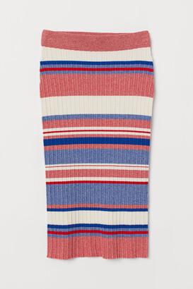 H&M Ribbed skirt