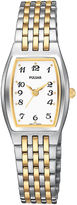 Pulsar Womens Two-Tone Stainless Steel Bracelet Watch PTC403