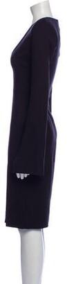 Aq/Aq Plunge Neckline Knee-Length Dress w/ Tags Black Plunge Neckline Knee-Length Dress w/ Tags