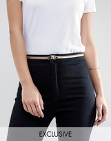 Pieces Anne Gold Waist Belt