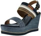 Wrangler Women's Jeena Sunshine Open Toe Sandals blue Size: