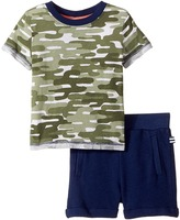 Splendid Littles Cactus Camo Tee Set Boy's Active Sets