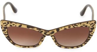 Dolce & Gabbana 56MM Cat Eye Sunglasses