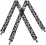 Buy Your Ties Mens Musical Notes Suspender Made in USA