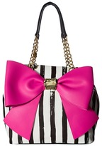 Betsey Johnson Bow and Arrow Tote