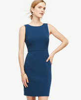 Ann Taylor Square Back Sheath Dress