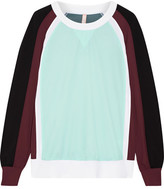 NO KA 'OI No Ka'Oi - Loa Color-block Stretch Sweatshirt - Mint