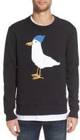 Altru Men's 'Seagull' Graphic Crewneck Sweatshirt