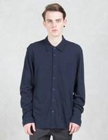 Sunspel Pique L/S Shirt