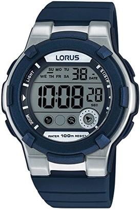 Lorus Womens Digital Quartz Watch with Silicone Strap R2355KX9