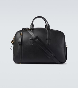 Tom Ford Exclusive to Mytheresa a Buckley leather bowling bag