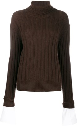 Jejia Ribbed Knit Jumper