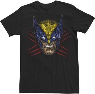 Wolverine Men's Marvel Mask Fill Tee