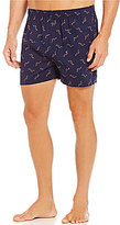 Tommy Bahama Woven Tossed Marlin Repeating Print Boxers