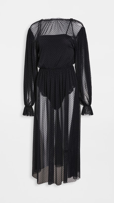 Le Petit Trou Entante Nightdress with Bodysuit