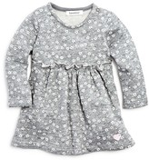 3 Pommes Infant Girls' Floral Print French Terry Dress - Sizes 3-24 Months