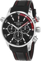 Maurice Lacroix Pontos S Chronograph Men's Dial Rubber Strap Swiss Automatic Divers Watch PT6018-SS001-330-1