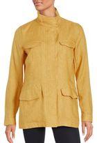 Loro Piana Solid Long Sleeve Jacket