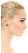 Magid Sarah Mini Metal Cone Stud Earrings