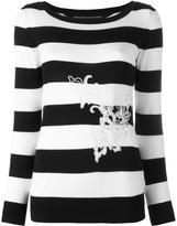 Ermanno Scervino striped jumper - women - Cotton - 46