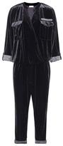 Brunello Cucinelli Velvet jumpsuit