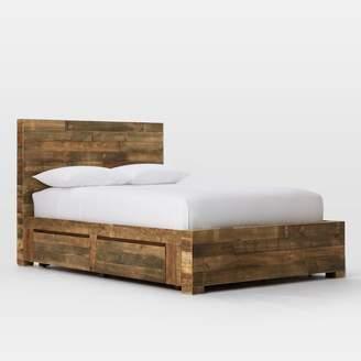 west elm Emmerson Reclaimed Wood Storage Bed - Natural
