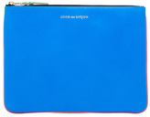 Comme des Garcons Super Fluo Pouch in Orange/Blue