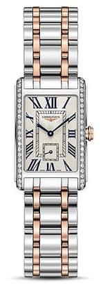 Longines DolceVita Diamond Two-Tone Watch, 20.5mm