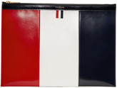 Thom Browne Tricolor Medium Document Holder
