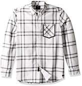 "Lacoste Men's 8"" Woven Short with Double Stripe Detail"