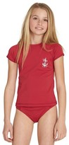 Billabong Girl's Sol Searcher Short Sleeve Rashguard