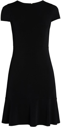 MICHAEL Michael Kors Flounce Seamed Dress
